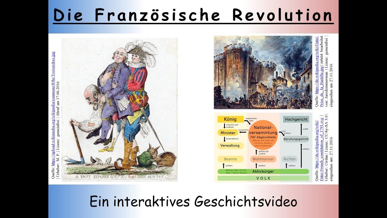 Französische Revolution Zusammenfassung Ein Interaktives Video