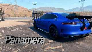 PORSCHE PANAMERA TURBO OFFROAD BUILD - NEED FOR SPEED PAYBACK (2017)
