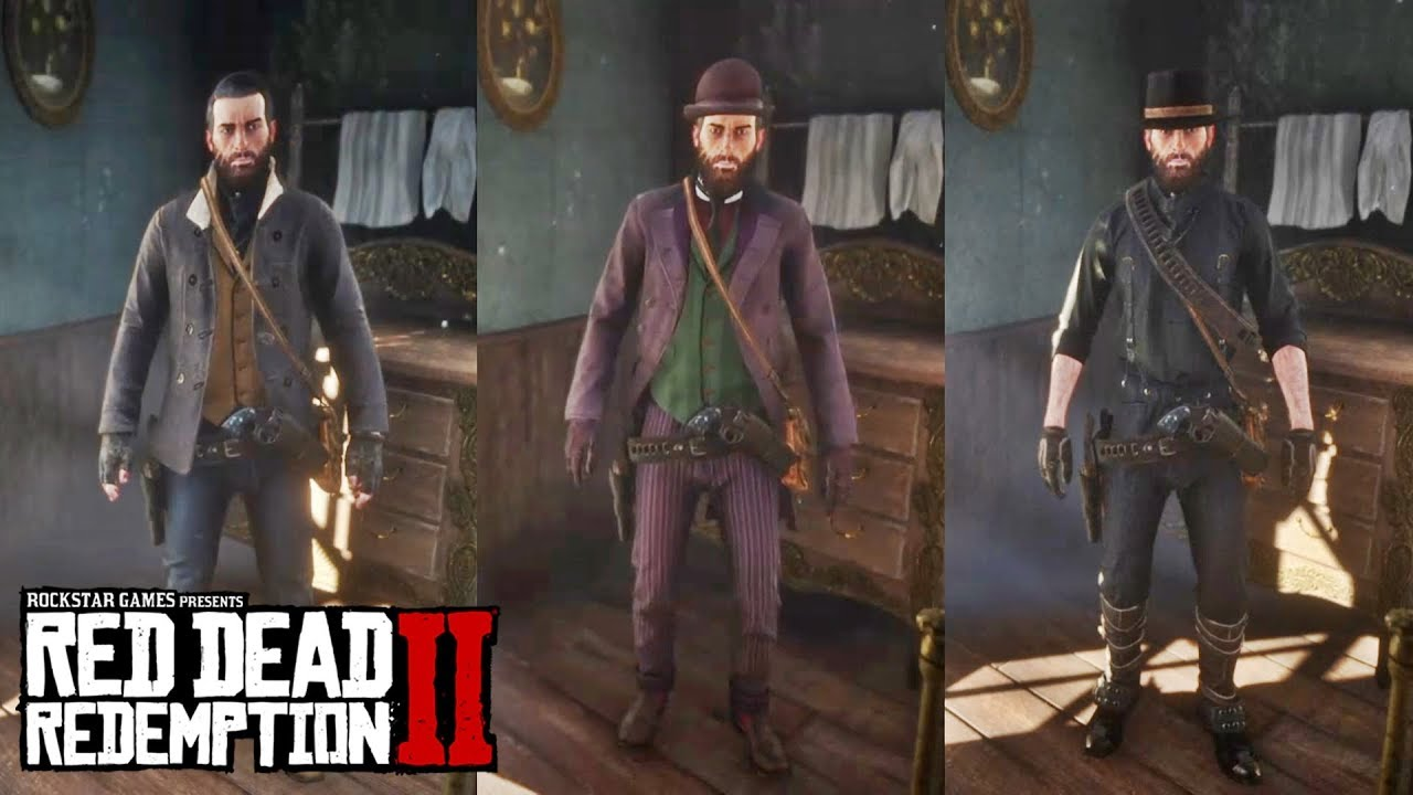 Red Dead Redemption 2 Best Outfits 02 Niko Bellic Black Rider Joker More