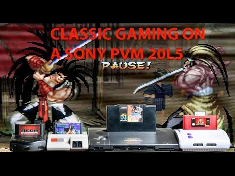 Sony PVM 20L5 Review for Classic Gaming in RGB