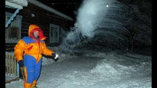 Oymyakon, Yakutia, Siberia,  the worlds coldest place