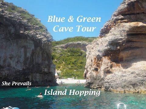 Croatia Blue & Green Cave and Island Tour