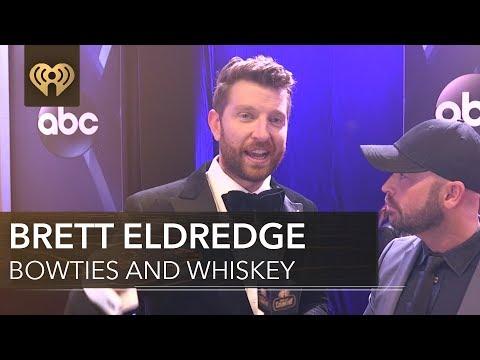 Brett Eldredge Talks About Blake Shelton   CMA Red Carpet Interview