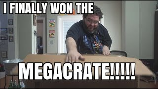 "I FINALLY ""WON"" THE MEGACRATE! YOU CAN WIN ONE TOO! LOOTCRATE MEGACRATE!"
