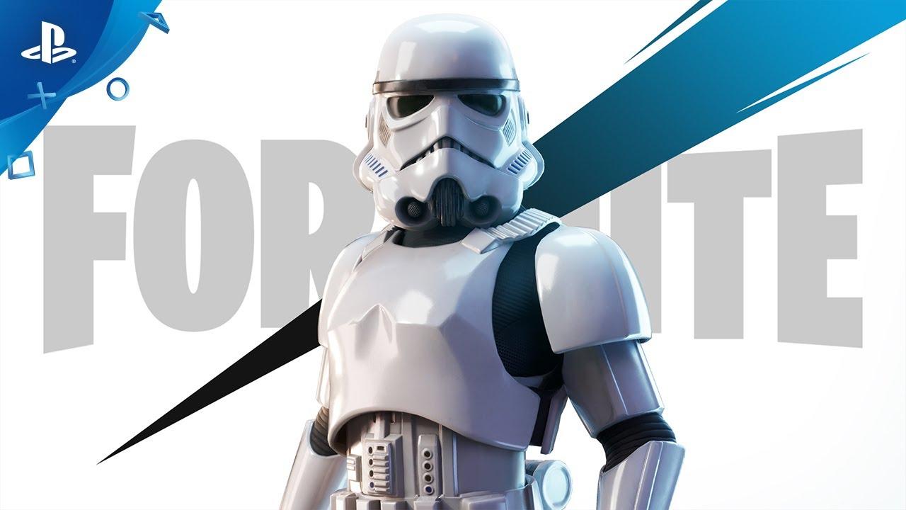 『フォートナイト』 「銀河帝国軍 ストームトルーパー」告知トレーラー