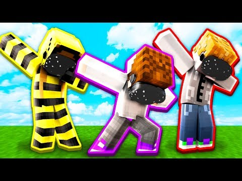 YOUTUBERS vs Minecraft Survival in VIRTUAL REALITY!