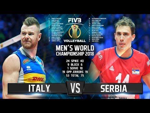 Italy vs. Serbia
