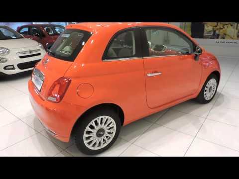 Fiatlenzi Fiat 500 1 2 Lounge Corallo Youtube
