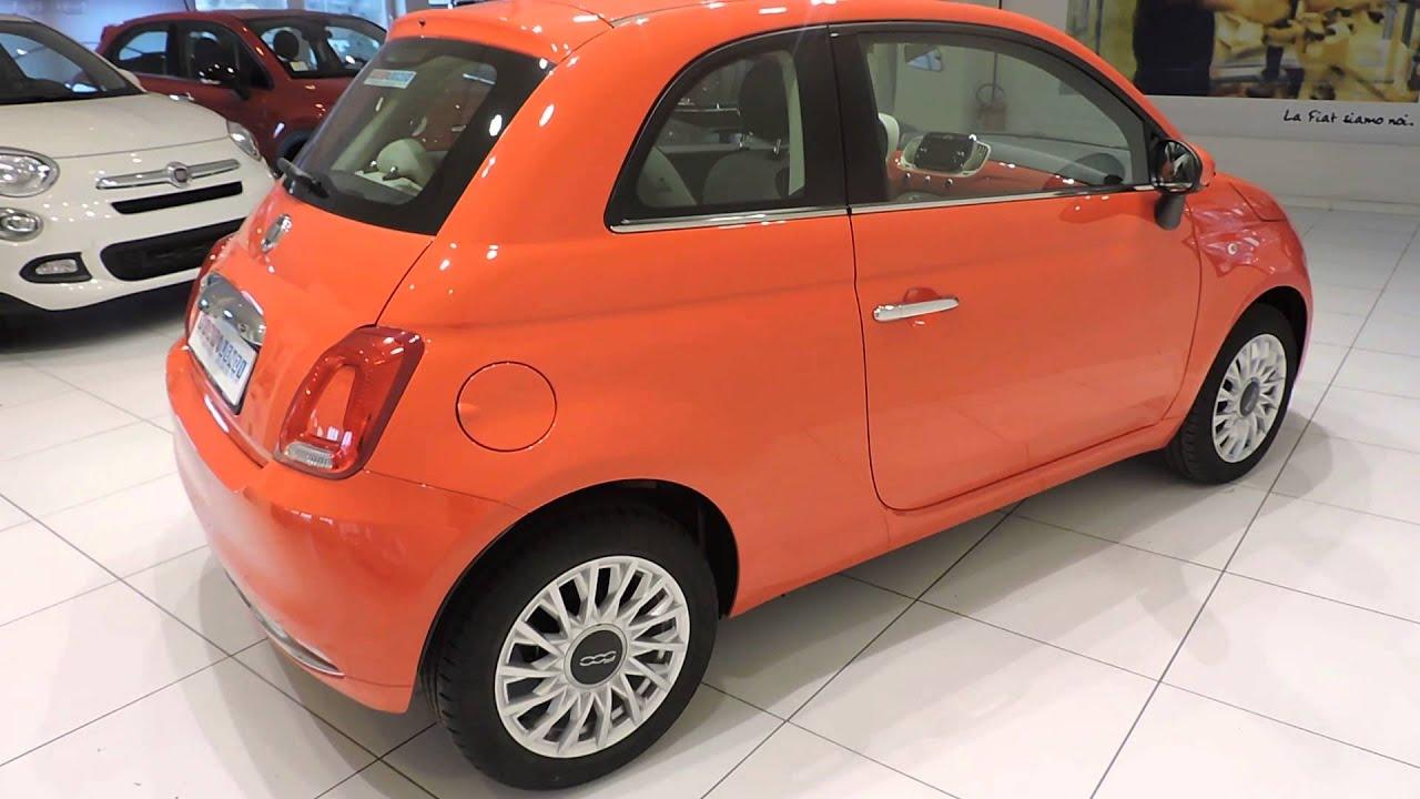 FIATLENZI FIAT 500 12 LOUNGE CORALLO YouTube
