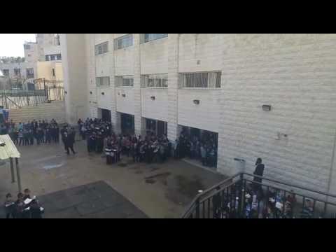 ילדי ת''ת חכמת שלמה בירושלים בתפילה לרפואת מרן הרב שטיינמן