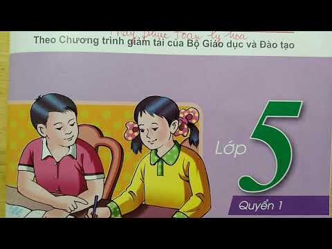 Vở ô li Bài Tập Toán lớp 5 Quyển 1 Bài 14 - LUYỆN TẬP CHUNG   Thầy Phúc toán lý hóa