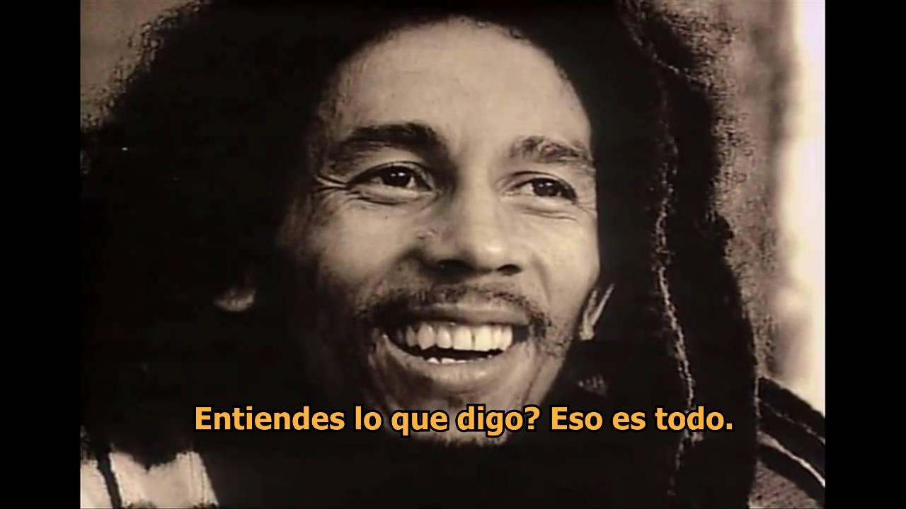 Bob Marley Palabras De Sabiduría Subtítulos En Español