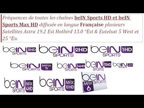 Fréquence de toutes chaînes beIN Sport HD et beIN Sport Max HD diffusées en  français