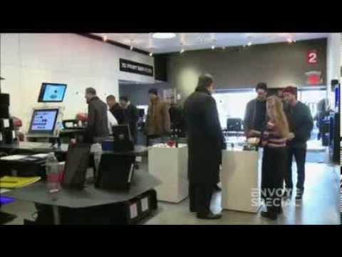 Reportage Impression 3D - Envoyé Spécial 06/03/2014 - France 2