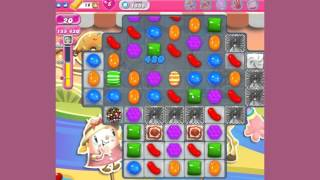 Candy Crush Saga Level 1555  - no boosters
