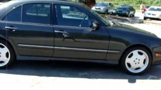 2002 02 Mercedes Benz E-Class E55 E 55 AMG Personal Used Car Review Tour