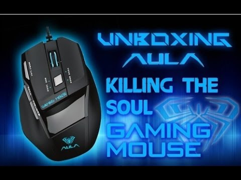 Игровая мышь AULA Killing The Soul Expert Gaming Mouse