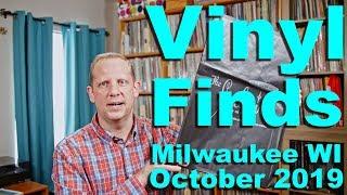 Vinyl Finds From Milwaukee Wisconsin, October 2019