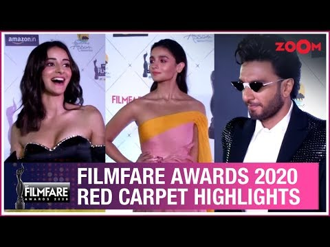 Filmfare Awards 2020 Red Carpet Highlights | Ranveer Singh, Alia Bhatt | Interviews | UNCUT