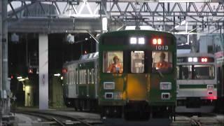 【東急】池上線「緑の電車」初運用