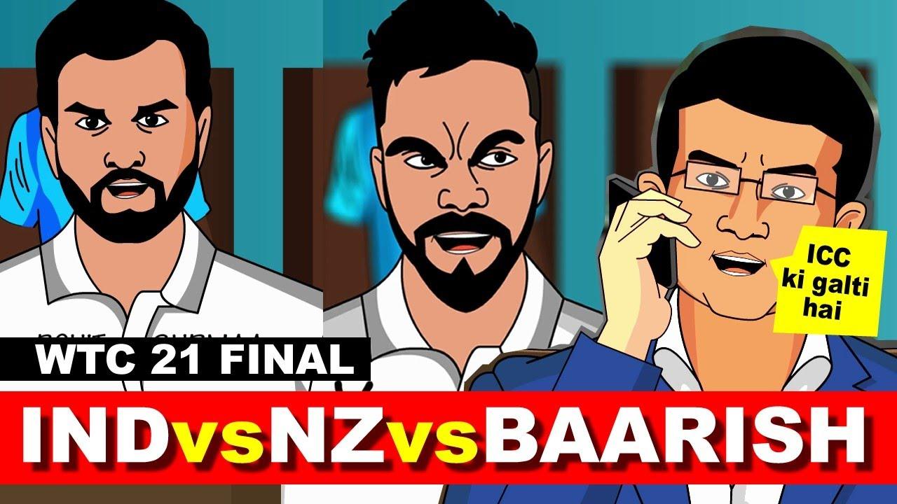 IND vs NZ vs Baarish #WTC21 FINAL