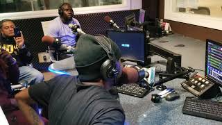 """Dj Lethal Vybz Live On G 98.7 with Spex Da Boss (Aug 25th Promotion New Single """"Go Hard"""