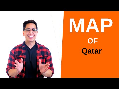 Qatar Map – 🌍 Interactive Map of Qatar and How to Draw it (Cities and Geography)