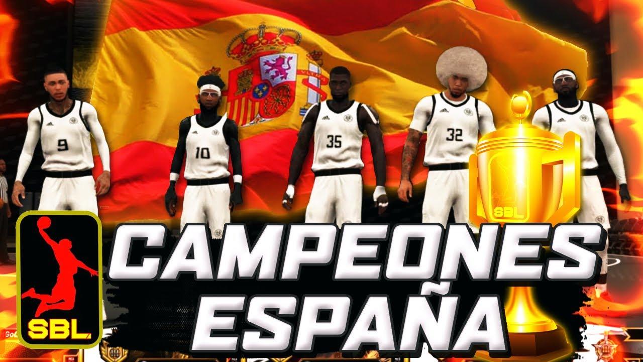 ¡Campeones de España 2KSBL ProAm! | *último campeonato de este año*