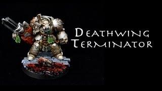 Painting Warhammer 40K: Deathwing Terminator, Dark Vengeance Dark Angels Terminator