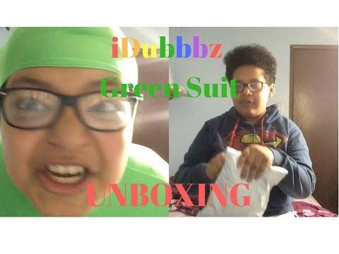 Idubbbz Green Suit Unboxing Youtube