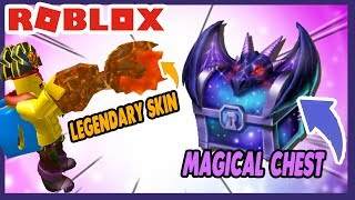 ROBLOX INDONESiA | DAPET 2x LEGENDARY SKiN & MAGiCAL CHEST 😍