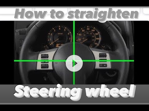 HOW TO TELL IF THE WHEELS ARE STRAIGHT