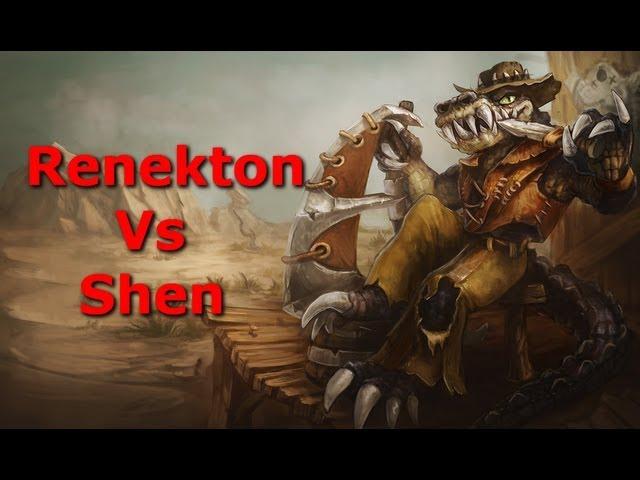 Renekton Vs Shen Matchup Guide!