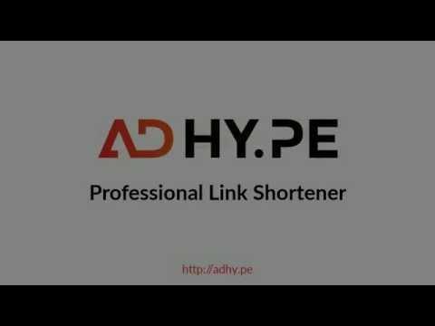 AdHy.pe - professional link shortener