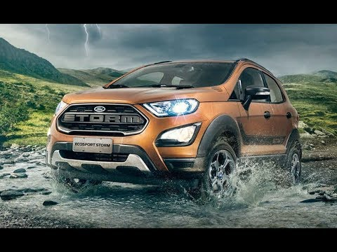 2018 New Ford EcoSport Storm Edition Leaked Ahead Of Debut In Brazil !!