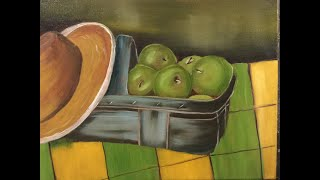 Apples In A Basket - A Complete Painting Tutorial