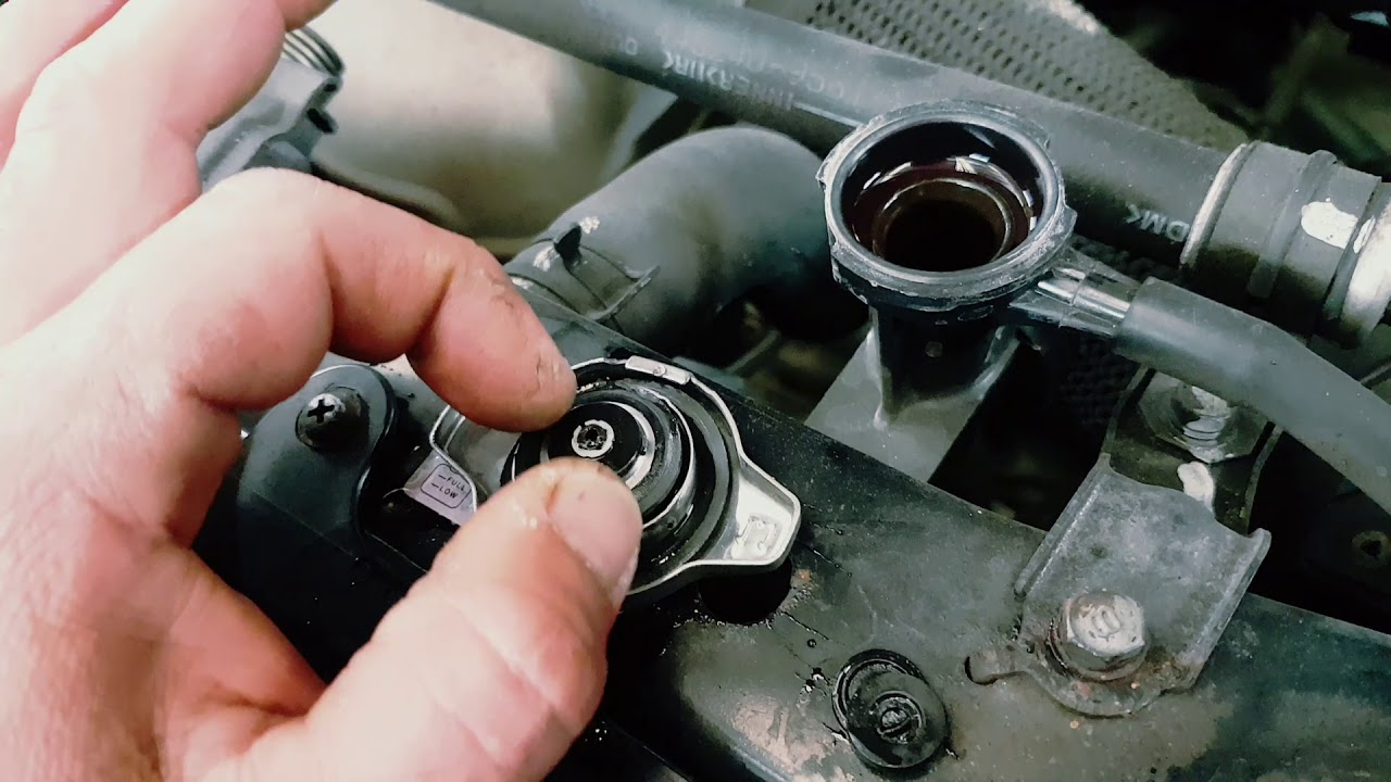 2004 Toyota Rav4 Overheating Coolant Leak Leaking From Camry Diagram Radiator Cap Pressure