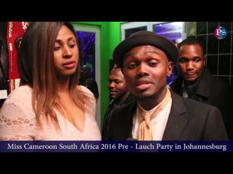 Miss Cameroon South Africa Pre   Lauch Party in Johannesburg  PS MEDIA