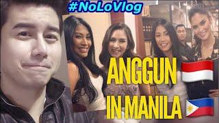 Video ANGGUN W/ FILIPINO FANS | MEETS SARAH GERONIMO & PIA WURTZBACH | Live Reaction | NoLo Vlog download MP3, 3GP, MP4, WEBM, AVI, FLV Juli 2018