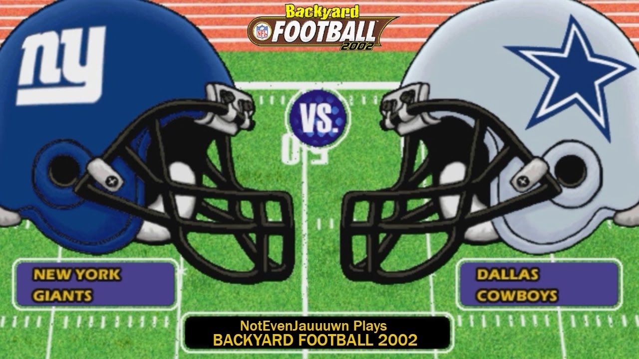 game 12 of season 2 on backyard football 2002 dallas cowboys vs new