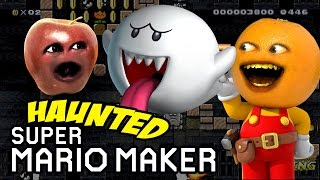 Annoying Orange - Haunted Super Mario Maker! w/ Midget Apple #SHOCKTOBER