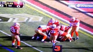 49ERS VS SAINTS Donte whitner smacks pierre thomas