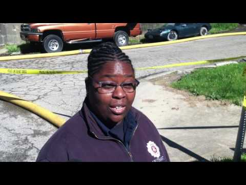 Akron fire official provides update on Monday's fatal blaze