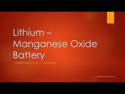 Lithium Manganese Oxide Battery