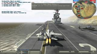Battlefield 2 (jet gameplay)