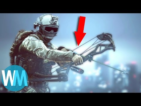 Top 10 Rarest Video Game Weapons