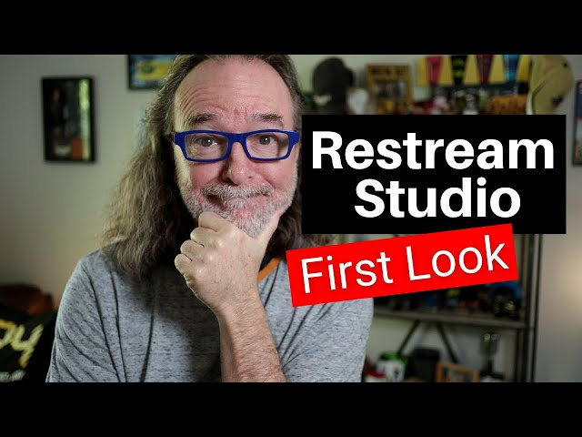 Trying Out The ReStream Live Studio