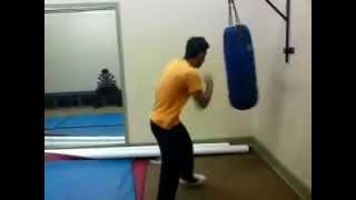 Bash Punch bag session Thumbnail