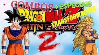 COMO FAZER TODOS OS ESPECIAIS E TRANSFORMAÇÕES NO DRAGON BALL Z SHIN BUDOKAI 2!!! PPSSPP