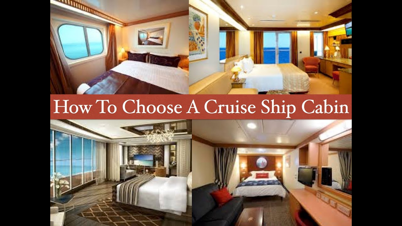 How To Choose A Cruise Ship Cabin YouTube - Cruise ship cabin pictures